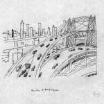 9/103 - Drawings from the tour round the world in 1936