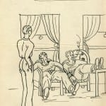 11/103 - Drawings from the tour round the world in 1936
