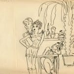 16/103 - Drawings from the tour round the world in 1936
