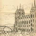 17/103 - Drawings from the tour round the world in 1936