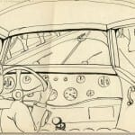 22/103 - Drawings from the tour round the world in 1936