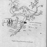 36/103 - Drawings from the tour round the world in 1936