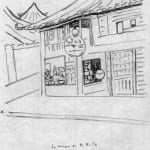 38/103 - Drawings from the tour round the world in 1936