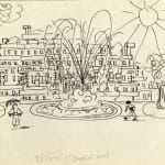 46/103 - Drawings from the tour round the world in 1936