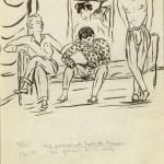 56/103 - Drawings from the tour round the world in 1936