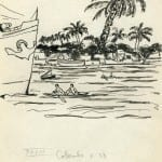 66/103 - Drawings from the tour round the world in 1936