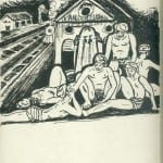 71/103 - Drawings from the tour round the world in 1936