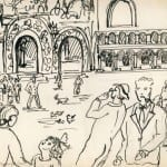 101/103 - Drawings from the tour round the world in 1936