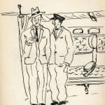 102/103 - Drawings from the tour round the world in 1936